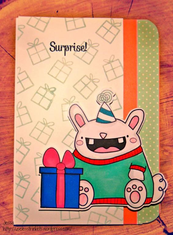 UselessTrinkets_Muetze_Birthday_Bunny_Freebie_PartyBunny_Card